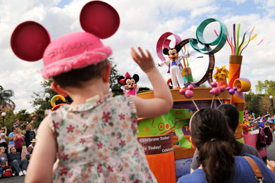 tips for disney parades